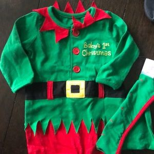 Other - Baby Christmas elf outfit